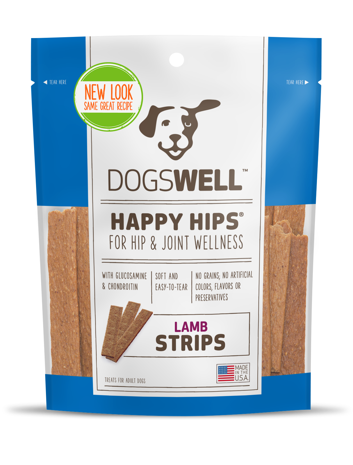 SALE Dogswell Happy Hips strips Made in USA