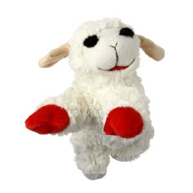 MultiPet Lambchop Plush Dog Toy 10 With Squeaker From 799